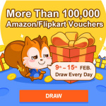 UC Browser Super Day Win 100000 Amazon & Flipkart Gift voucher
